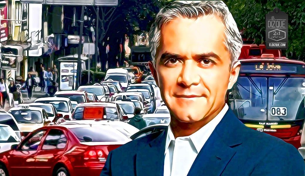 Miguel Ángel Mancera anuncia que eliminará el programa Hoy no circula en la Ciudad de México 1