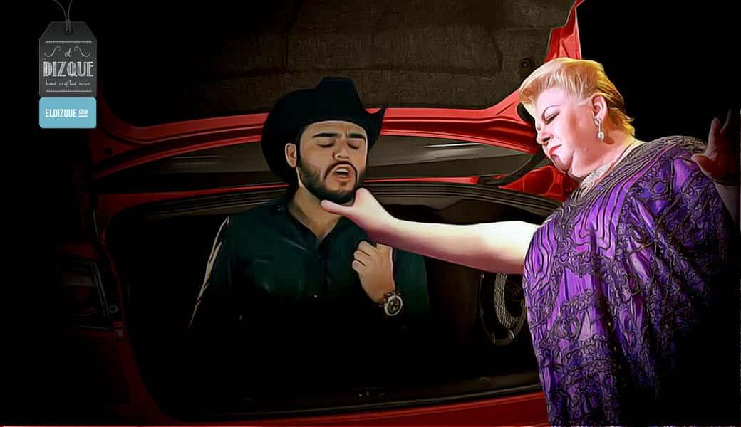 Paquita la del Barrio filmará video musical con Gerardo Ortiz 2