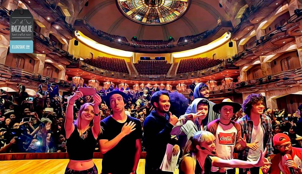 Los youtubers mexicanos se presentarán en el Palacio de Bellas Artes 2