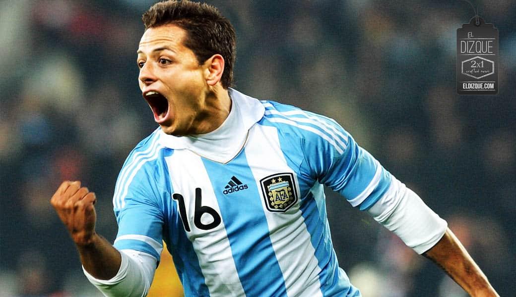 Chicharito Hernández busca naturalizarse como argentino para jugar al lado de Messi 1