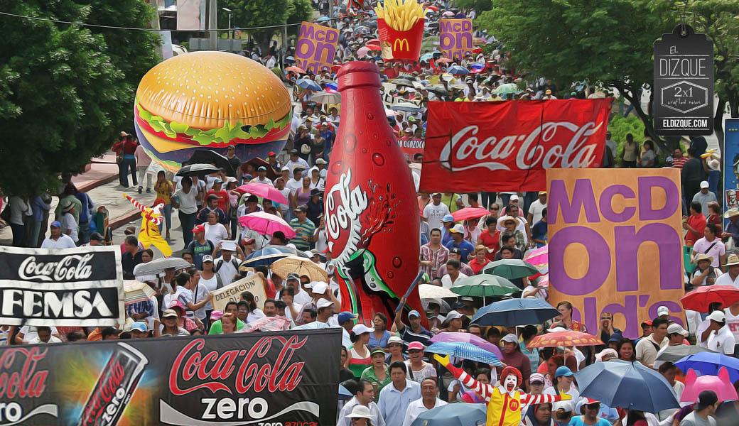 McDonald's y Coca-Cola convocan a megamarcha en Nuevo León 6