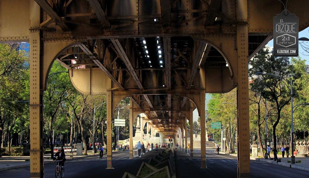 Para la construcción del tren elevado sobre Reforma, reubicarán el Ángel de la Independencia 7