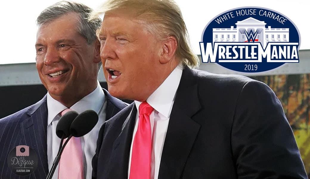 Donald Trump elige a Vince McMahon como su vicepresidente — WrestleMania se celebraría en la Casa Blanca 9