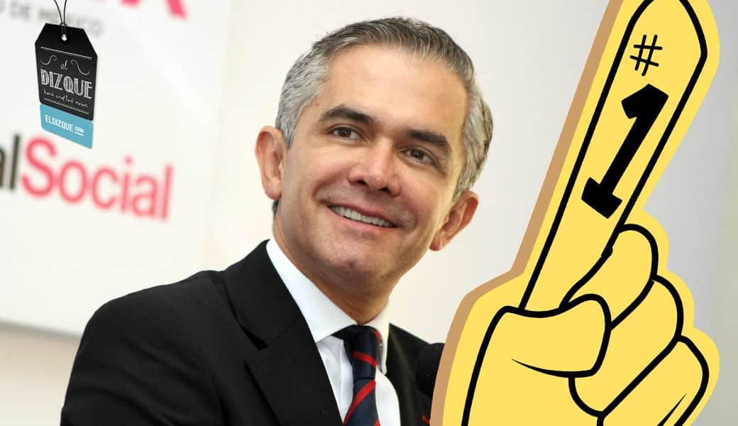 Miguel Ángel Mancera, favorito en las encuestas para las elecciones presidenciales de 2018 4
