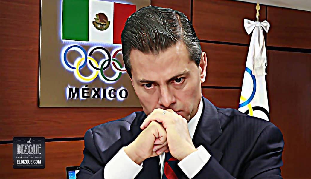 Pánico en Río 2016: Le informan a EPN que las medallas no se ganan por decreto 1