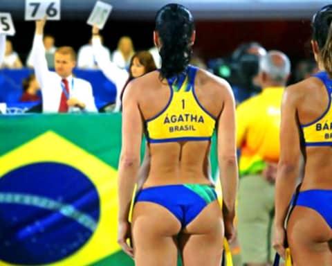 Denuncian fraude en la final del voleibol de playa femenil de Río 2016 2