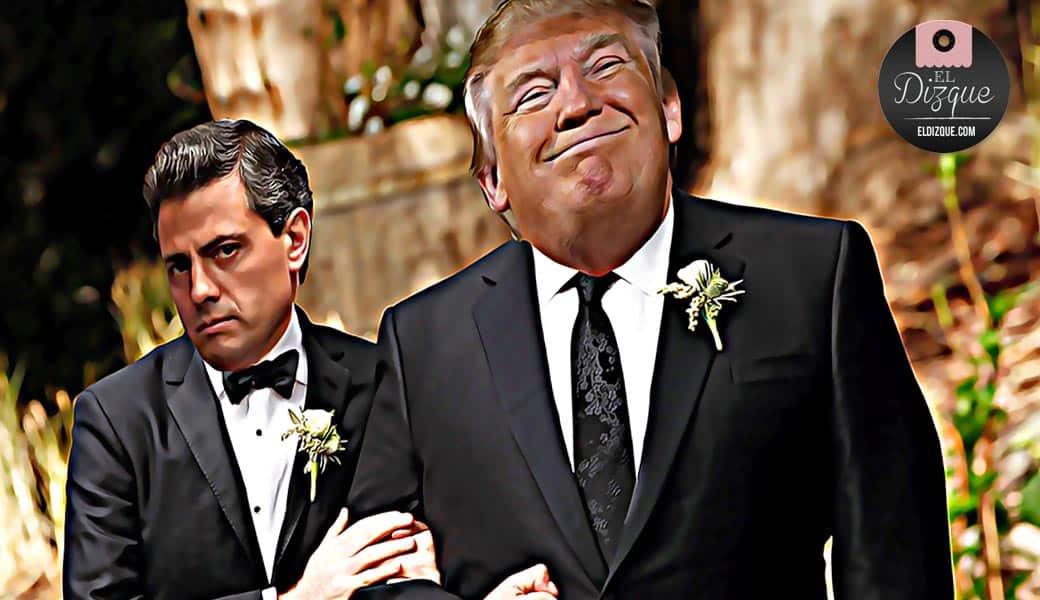 Donald Trump acordó con Peña Nieto comprar la Selección Mexicana 1