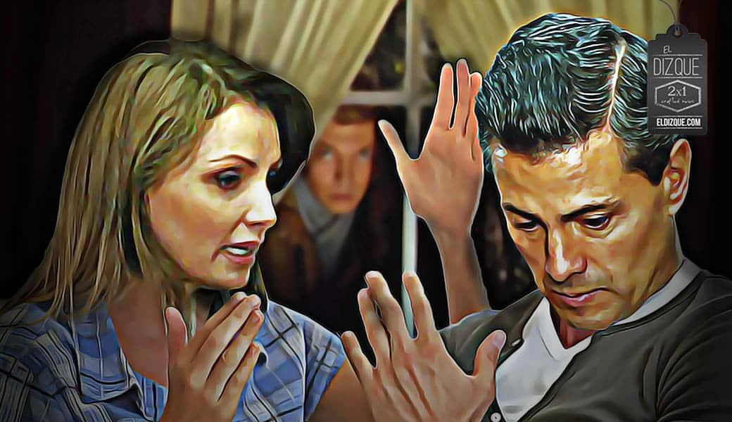 ¡Impactante escena de celos armó Angélica Rivera a Enrique Peña Nieto! 1