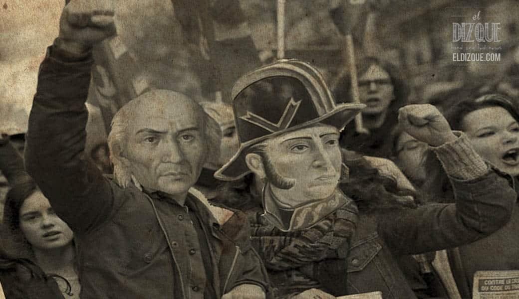 Miguel Hidalgo da el grito e inicia megamarcha — El virrey Peñejas, en la mira de los revoltosos 1