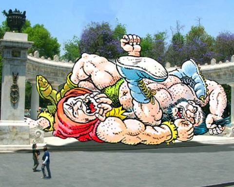 Senado aprueba partida para construir el Monumento al Luchador — Ocupará el lugar del Hemiciclo a Juárez 3