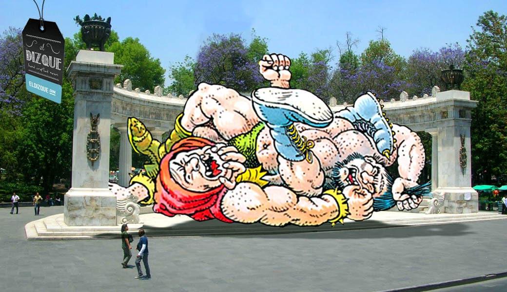 Senado aprueba partida para construir el Monumento al Luchador — Ocupará el lugar del Hemiciclo a Juárez 6