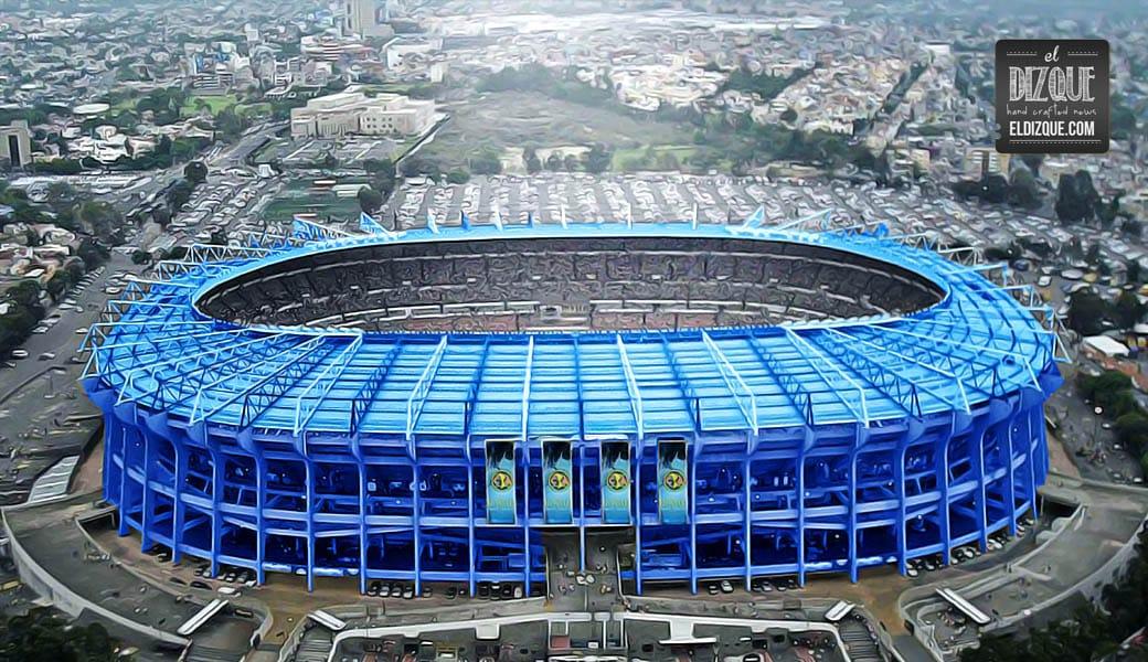 Aunque ya fue aprobado, los americanistas rechazan el cambio de nombre para el Estadio Azteca 1