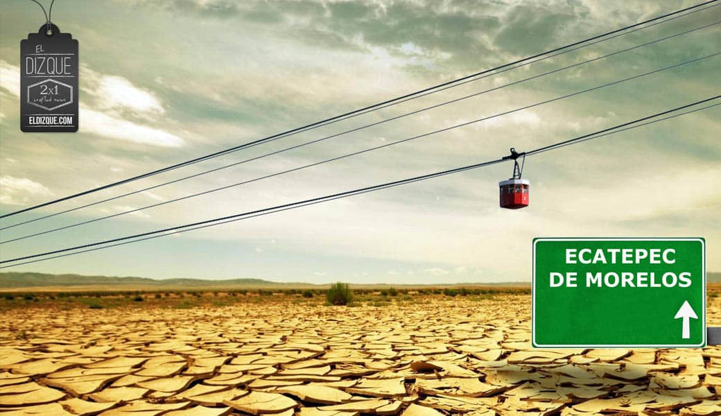 Tras la inauguración del Mexicable, desaparece el pasto en Ecatepec — Científicos, alarmados 12