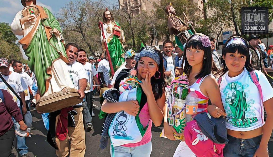 Los Sanjudistas reciben reconocimiento oficial como religión — Norberto Rivera, paniqueado 1