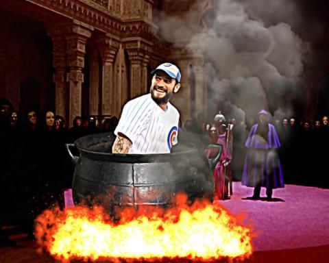 Se revela que CM Punk fue inmolado para que ganaran los Cachorros de Chicago 10
