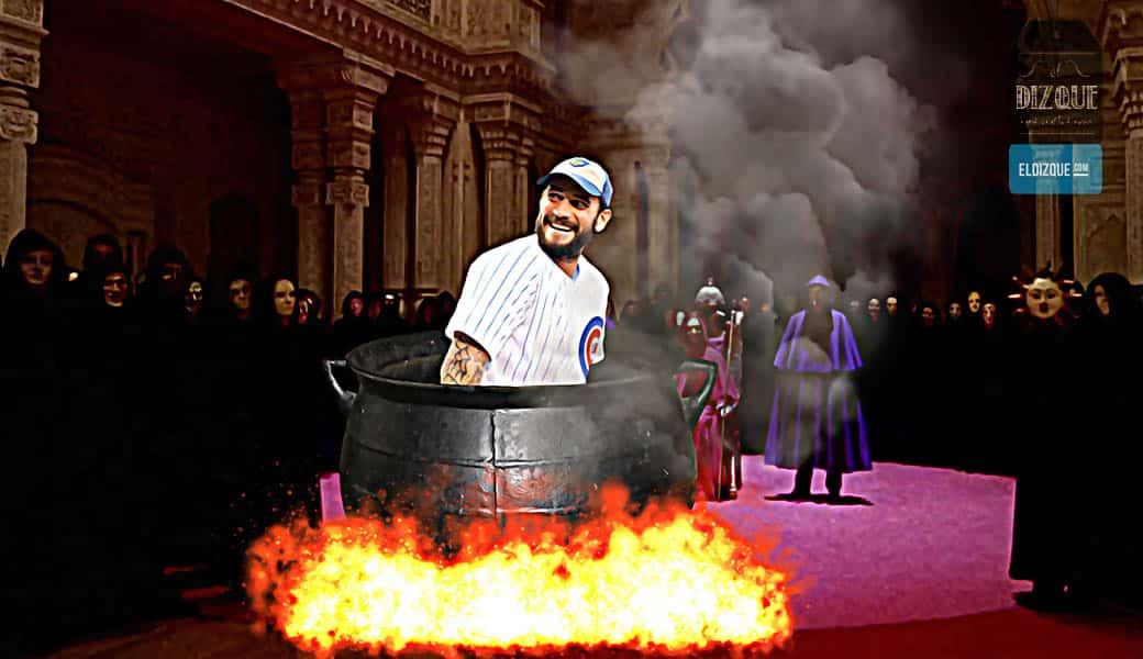 Se revela que CM Punk fue inmolado para que ganaran los Cachorros de Chicago 1