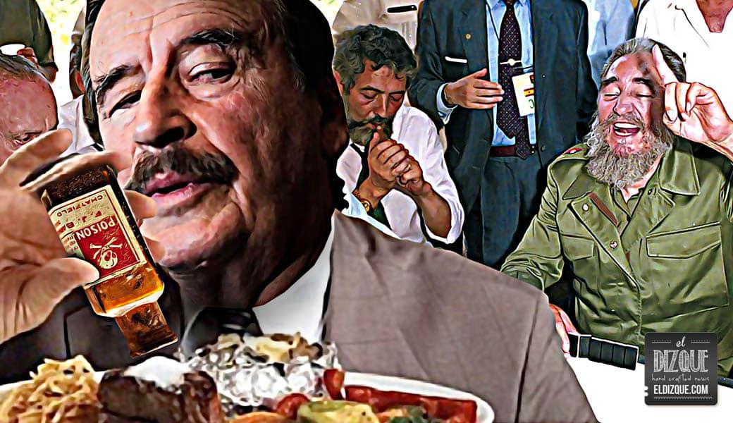 """Revelan la verdadera historia del """"comes y te vas"""" entre Fox y Fidel Castro 7"""