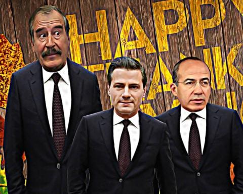 Peña Nieto, Fox y Calderón se unen para enviar un mensaje en el Día de Acción de Gracias 4