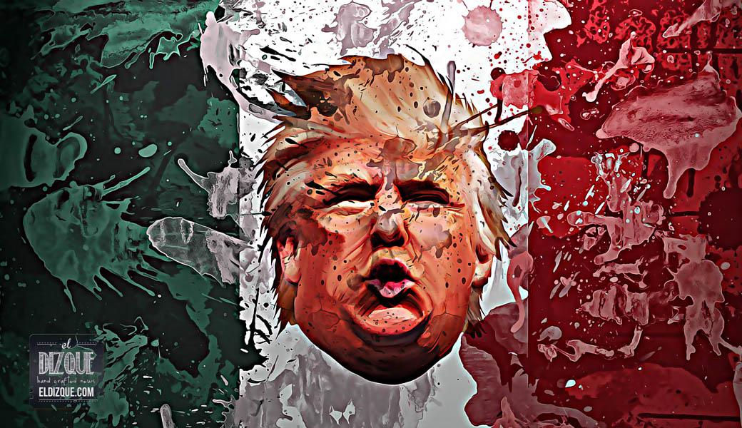 """Se rumora que Donald Trump ya registró el nombre de """"México"""" 8"""