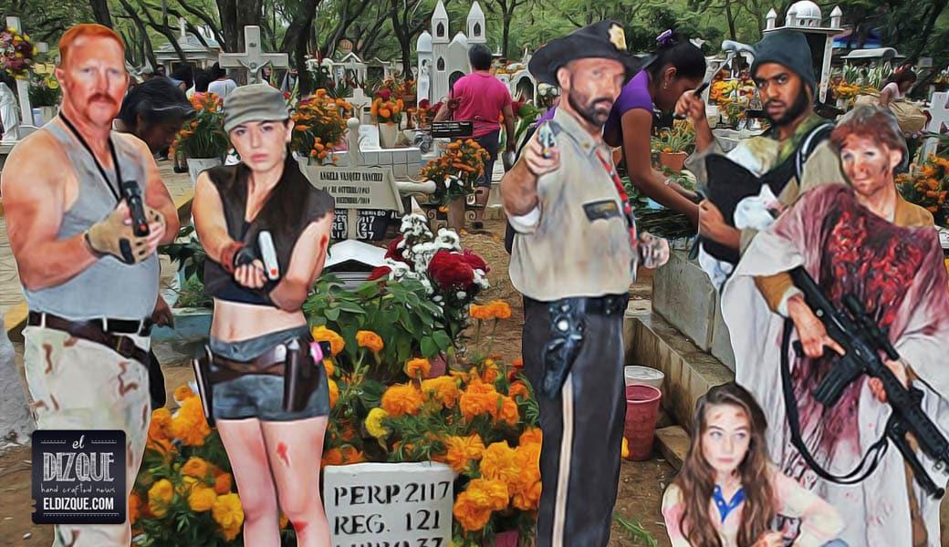 Fans de The Walking Dead, decepcionados con el Día de Muertos 10
