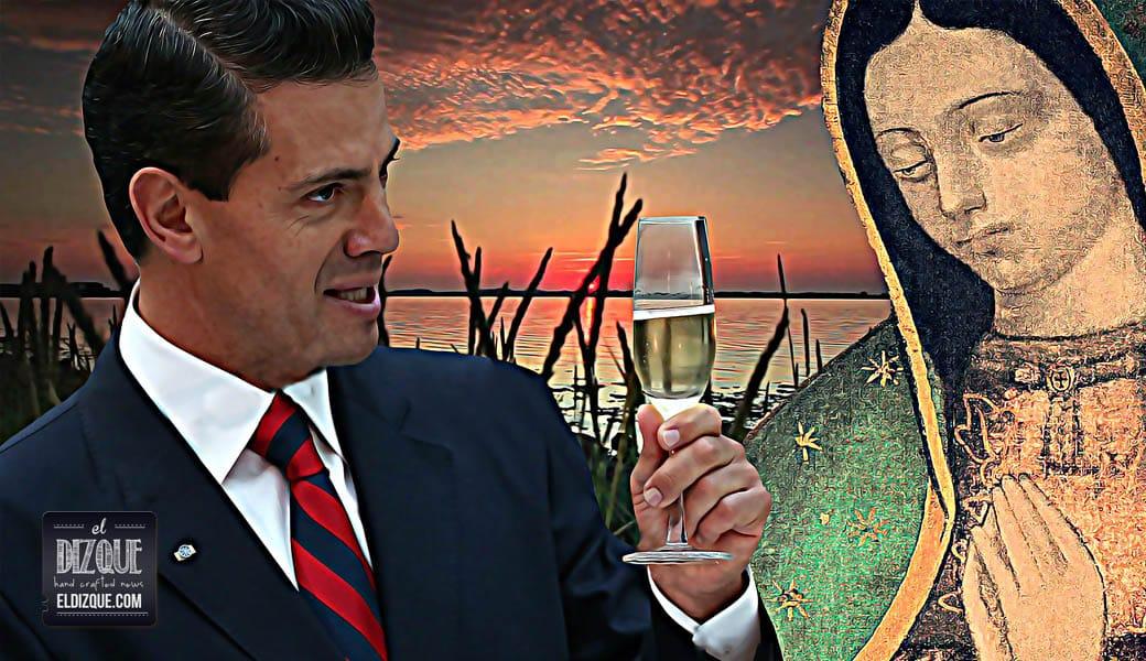 """EPN encomienda México a la Virgen de Guadalupe: """"Ella resolverá todos los problemas económicos y sociales"""" 1"""