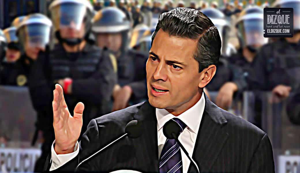 """Peña Nieto revela: """"La gasolina subió de precio por culpa de los saqueos a tiendas departamentales"""" 2"""