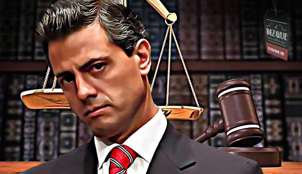 ¡Lo que faltaba! ¡Enrique Peña Nieto entabla demanda contra México! 1