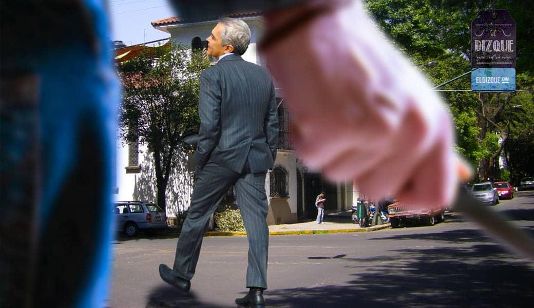 El doctor Mancera fue golpeado y asaltado en pleno centro de la Ciudad de México 1
