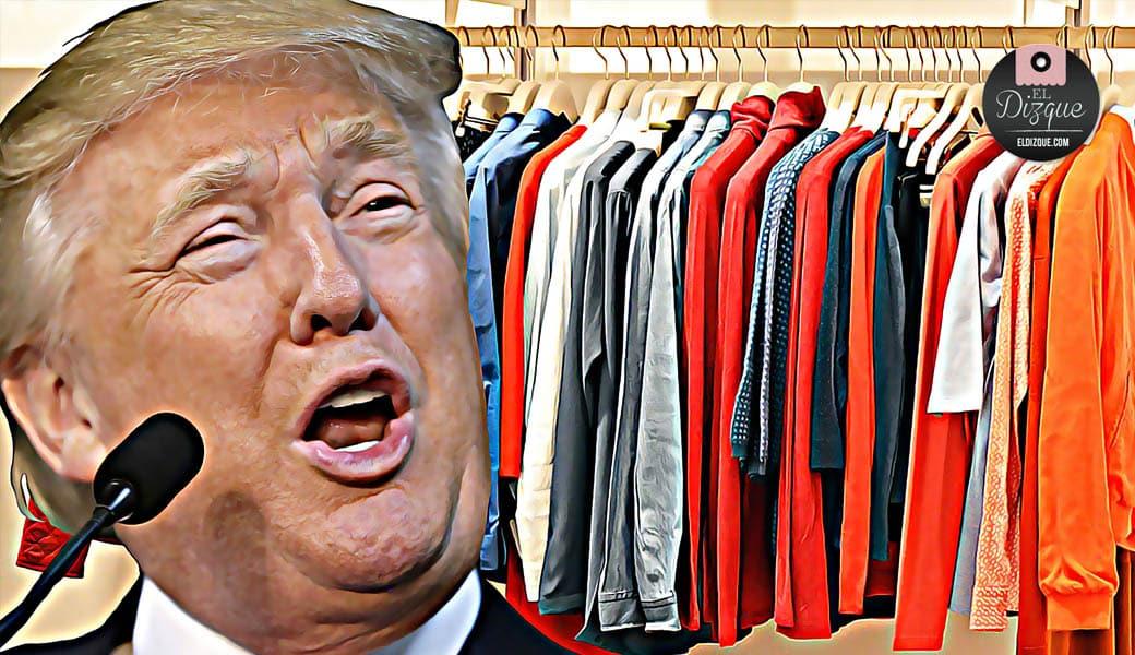 Donald Trump sólo permitirá las exportaciones de ropa hacia México 1