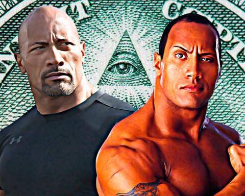 Teóricos de la conspiración insisten en que Dwayne Johnson y The Rock son la misma persona 4