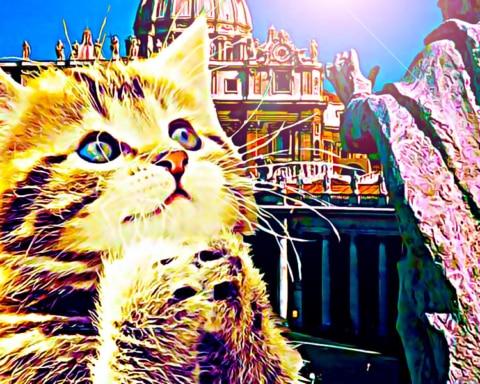 Tras el descubrimiento de un evangelio perdido, el Vaticano declara sagrados a los gatos 2