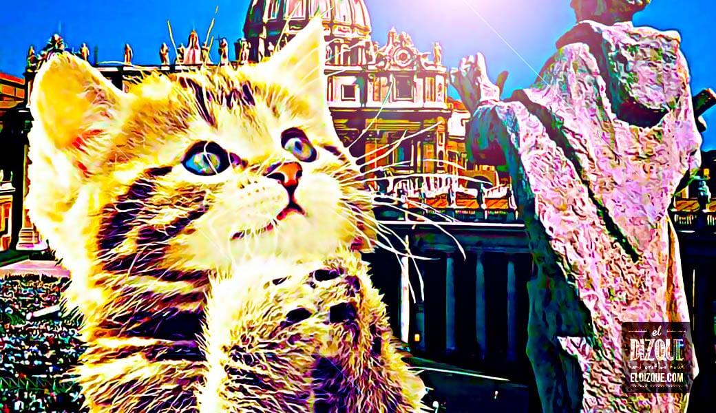 Tras el descubrimiento de un evangelio perdido, el Vaticano declara sagrados a los gatos 1