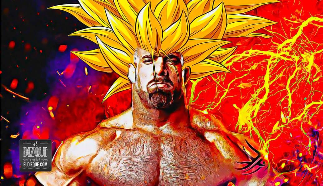 Estudio demuestra que Goldberg es más poderoso que Gokú 1