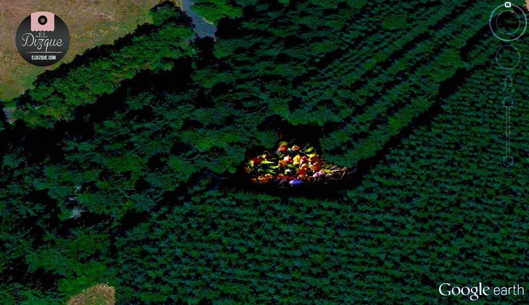 Encuentran la aldea de los Pitufos gracias a Google Earth 4