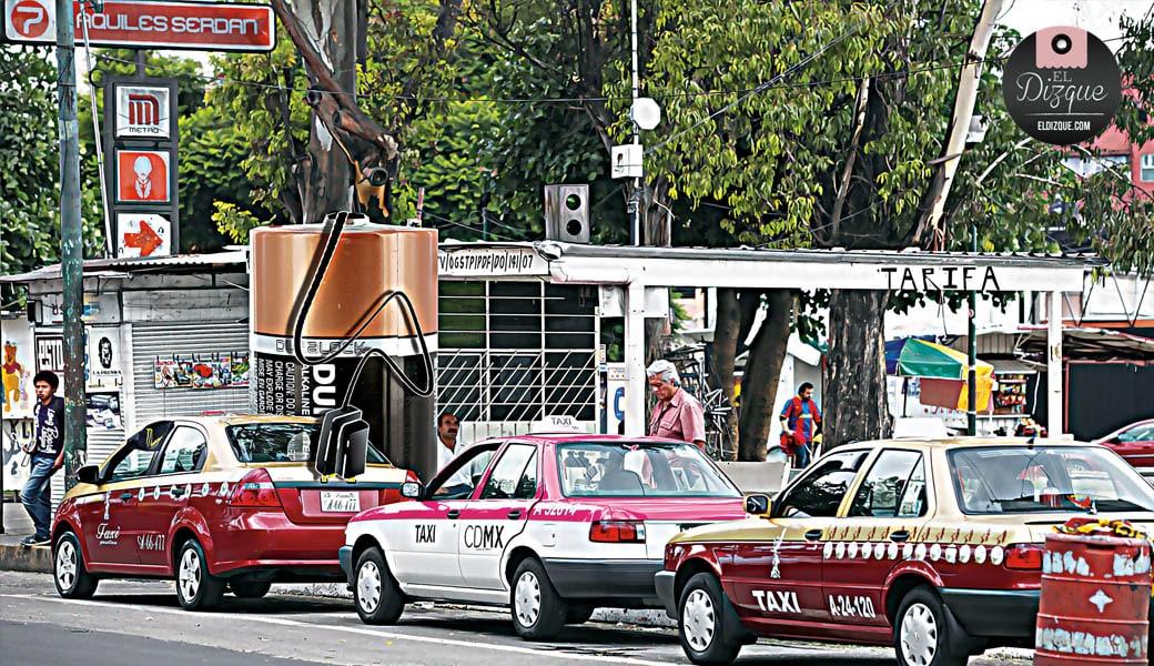 Descubren que los taxis de la Ciudad de México no utilizan gasolina 7