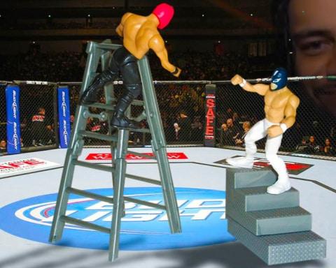 Cinco luchadores de WWE que podrían triunfar en UFC 4