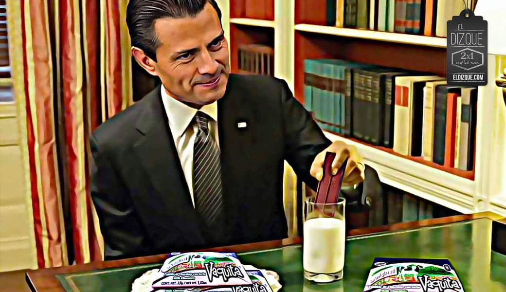 Peña Nieto descubre que la Vaquita Marina no es un chocolate 9