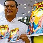 El candidato del PRD, Juan Zepeda, se promocionará con su propio Libro Vaquero 4