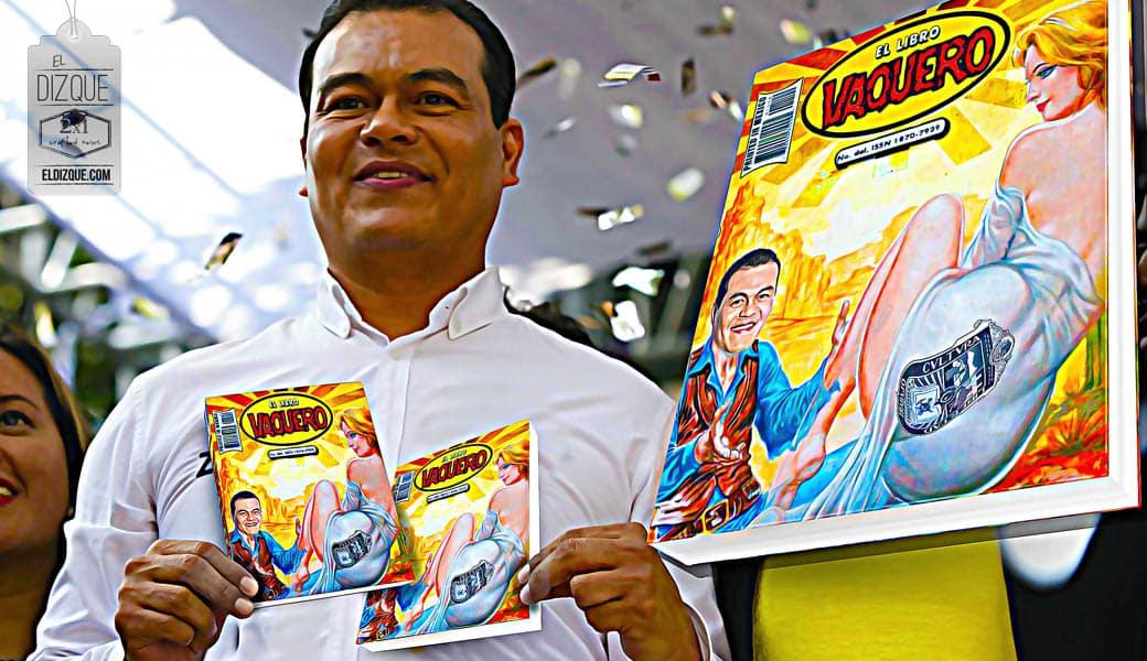 El candidato del PRD, Juan Zepeda, se promocionará con su propio Libro Vaquero 6