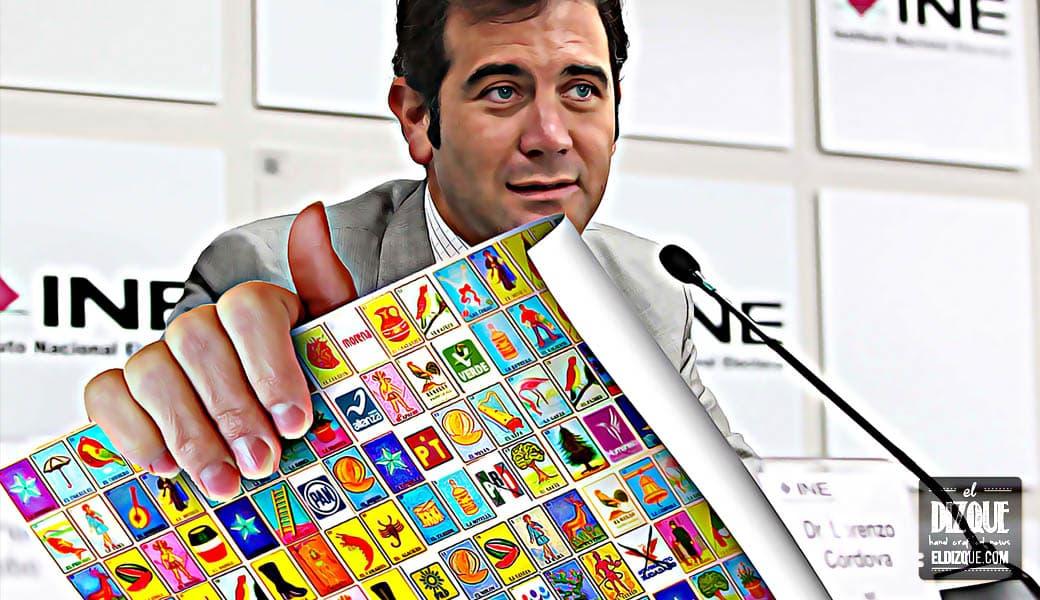 El INE presenta la boleta para la contienda presidencial de 2018 8