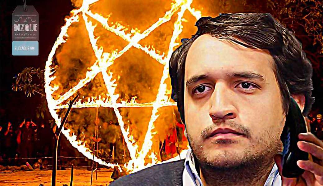 Revelan mensajes satánicos en el audio del hijo de López Obrador 1