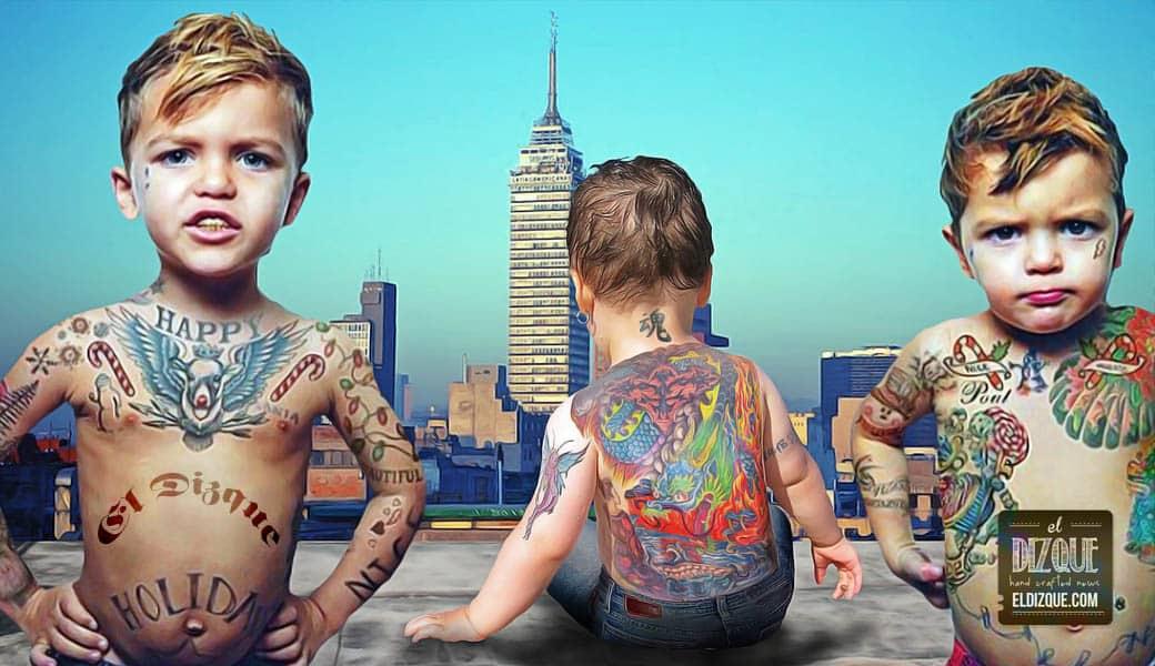 Los tatuajes infantiles serán legales en la Ciudad de México gracias a Miguel Ángel Mancera 1