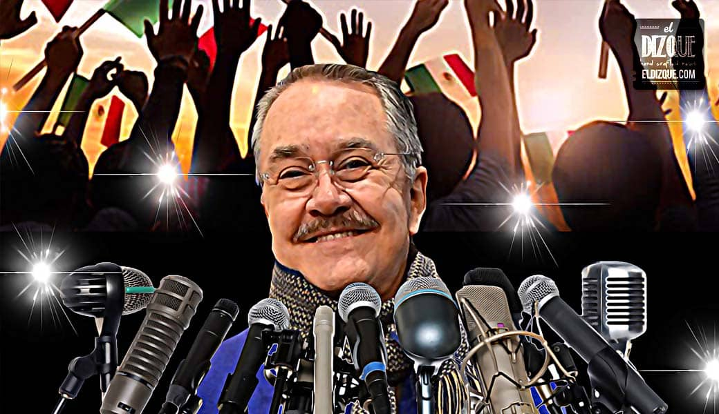 Pedrito Sola se destapa como candidato a la presidencia de México 1