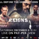 Se afinan detalles para Reigns vs. Mayweather vs. McGregor, la pelea del milenio 5