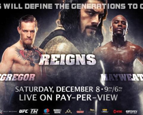 Se afinan detalles para Reigns vs. Mayweather vs. McGregor, la pelea del milenio 4