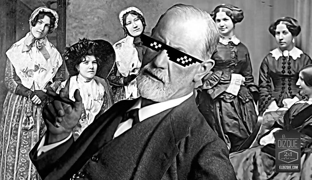 Se descubre que Sigmund Freud inventó el psicoanálisis como un método para ligar 1