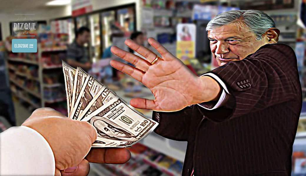 AMLO, sorprendido en un acto de corrupción — Pide PRI todo el peso de la ley 1