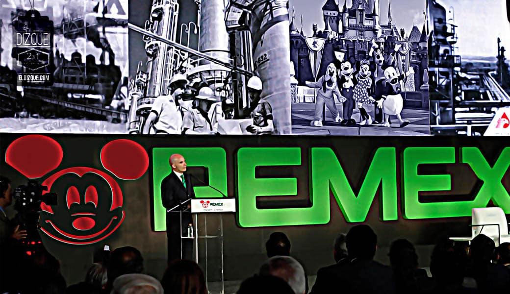 La Secretaría de Energía confirma que Disney comprará Pemex 3