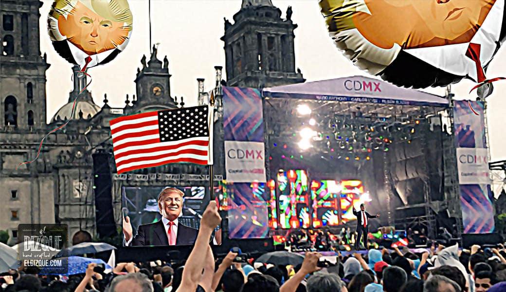Donald Trump ofrecerá un concierto en el Zócalo capitalino 5