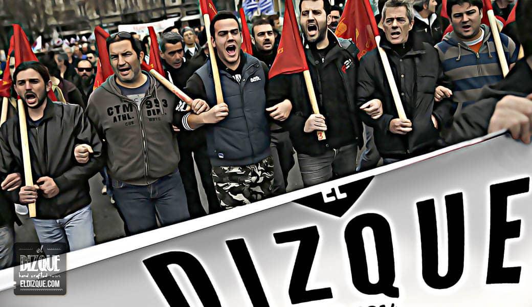 La huelga de trabajadores de El Dizque paraliza a la Ciudad de México 5